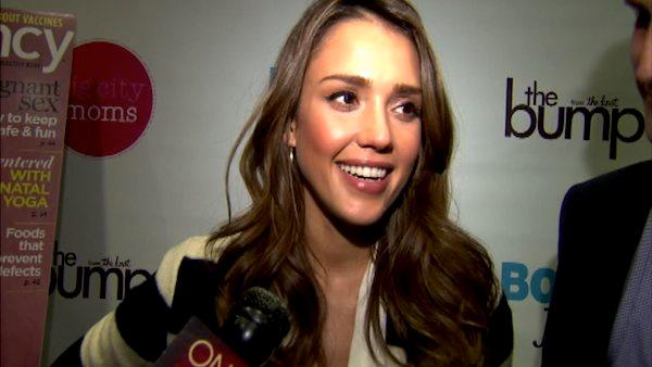 Jessica Alba talks to OnTheRedCarpet.com at the 11th annual Biggest Baby Shower event on February 28, 2012. - Provided courtesy of OTRC