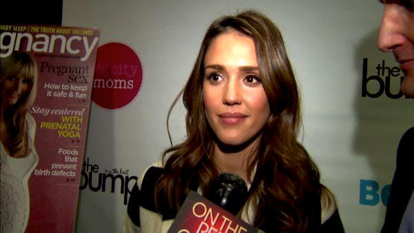 Jessica Alba talks to OnTheRedCarpet.com at the 11th annual Biggest Baby Shower event on February 28, 2012.