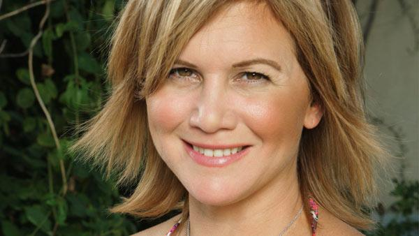 Tracey Gold appears in a promotional photo from Celebrity Wife Swap in 2012. - Provided courtesy of ABC
