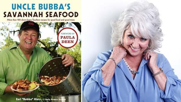 Earl W. Bubba Hiers, brother of Paula Deen, appears on the cover of his book Uncle Bubbas Savannah Seafood. / Celebrity chef Paula Deen poses for a portrait Tuesday, Jan. 17, 2012 in New York. Dean recently announced that she has diabetes. - Provided courtesy of Simon and Schuster / Carlo Allegri