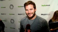 Chris Pratt talks to OnTheRedCarpet.com about Parks and Recreation at a PaleyFest event on March 6, 2012. - Provided courtesy of OTRC
