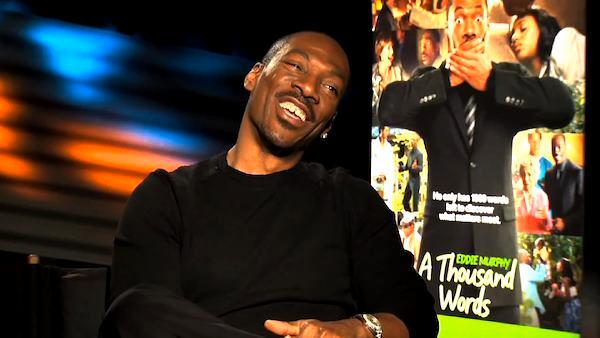 Eddie Murphy on 'A Thousand Words' premise