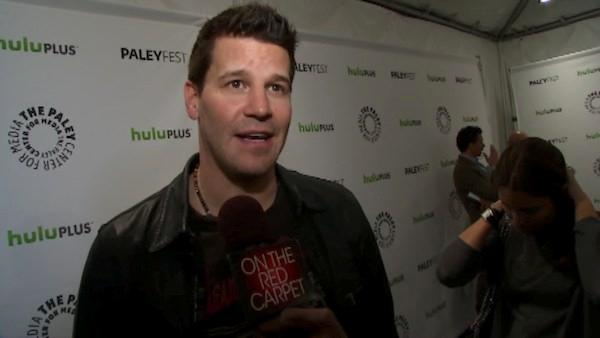 David Boreanaz talks to OnTheRedCarpet.com at PaleyFest 2012 about the new season of his hit show Bones on March 8, 2012. - Provided courtesy of OTRC