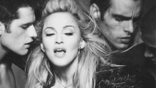 Madonna appears in a still from her Girl Gone Wild music video teaser. - Provided courtesy of Interscope Records 2012