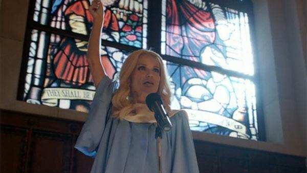 Kristin Chenoweth appears in a scene from the ABC show GCB on an episode that aired on March 11, 2012. - Provided courtesy of ABC