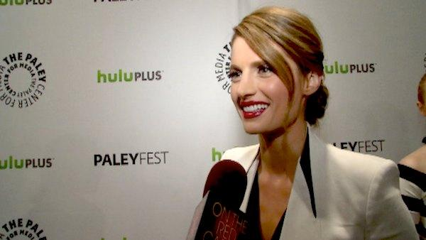Stana Katic talked to OnTheRedCarpet.com and dished about some upcoming naughty scenes on Castle. - Provided courtesy of OTRC