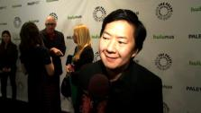 Ken Jeong talks to OnTheRedCarpet.com at a Paleyfest event for Community on March 3, 2012. - Provided courtesy of OTRC
