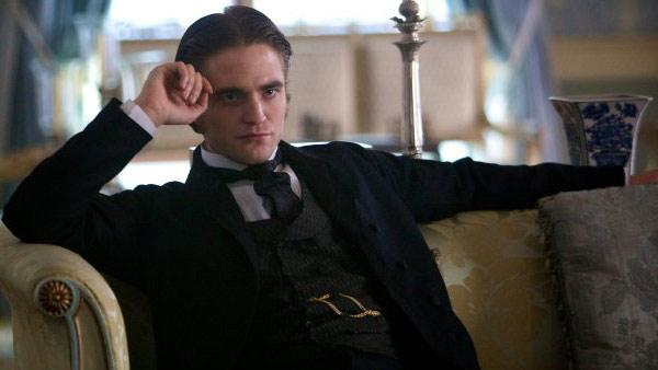 Robert Pattinson appears in a promotional photo for the 2012 movie 'Bel Ami.'