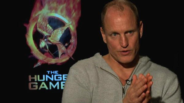 Woody Harrelson talks to OnTheRedCarpet.com about The Hunger Games in March 2012. - Provided courtesy of OTRC
