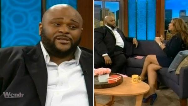Ruben Studdard talks to Wendy Williams on an episode of The Wendy Williams Show that aired on March 13, 2012. - Provided courtesy of Debmar-Mercury