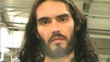 Russell Brand appears in a mug shot taken after he was arrested and jailed briefly on March 15, 2012 in New Orleans. He was accused of tossing a photographers iPhone through a window of a law film office. - Provided courtesy of New Orleans Parish Jail