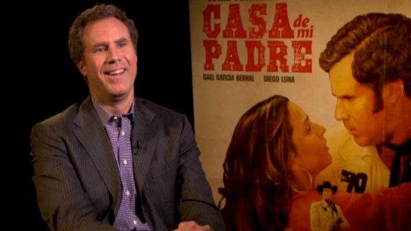 Will Ferrell on inspiration for 'Casa de mi Padre'