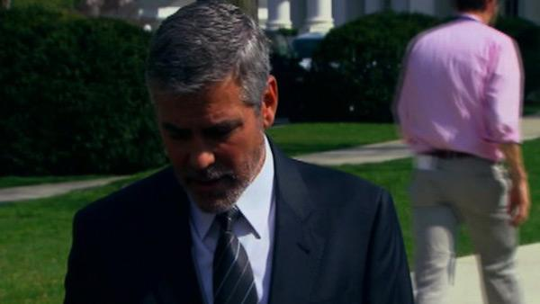 George Clooney talks Sudan before DC arrest