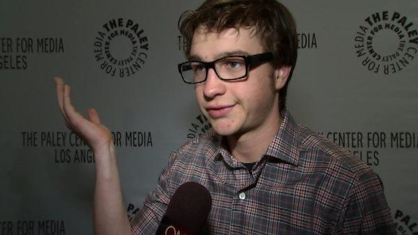 Angus T. Jones of Two and a Half Men talks to OnTheRedCarpet.com at the 2012 Paleyfest about the future of the long-running show. - Provided courtesy of OTRC