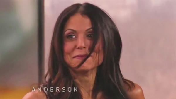 Bethenny Frankel appears in a still from Anderson, which aired on March 16, 2012. - Provided courtesy of CNN