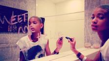 Willow Smith appears in an undated photo from her official Instagram page. - Provided courtesy of OTRC / Instagr.am/p/HxIwZLiPpS/