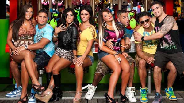 The cast of Jersey Shore appear in a promotional photo for the fifth season of the MTV show Jersey Shore in 2011. - Provided courtesy of MTV