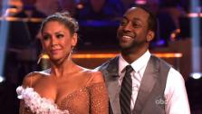 Jaleel White, who played Steve Urkel on Family Matters, and his partner Kym Johnson received 26 out of 30 from the judges for their foxtrot on the season premiere of Dancing With The Stars, which aired on March 19, 2012. - Provided courtesy of ABC