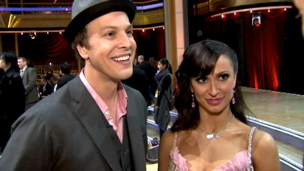 Gavin DeGraw talks first night on 'DWTS'