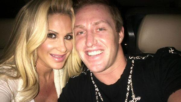 Kim Zociak and Kroy Biermann appear in a photo posted on her official Twitter page on February 24, 2012. - Provided courtesy of Twitter.com/Kimzolciak