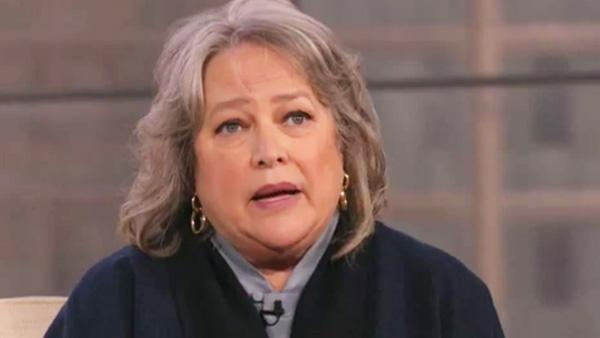 Kathy Bates appears in a still from a March 2012 episode of Anderson. - Provided courtesy of CNN