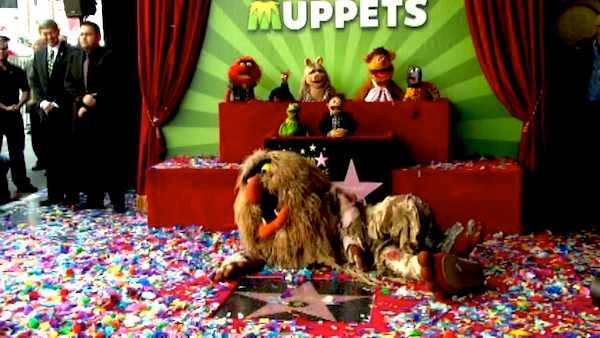 The Muppets gets Hollywood star