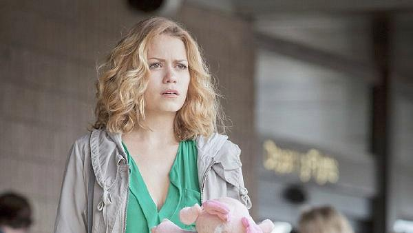 Bethany Joy Galeotti appears in a scene from the CW show 'One Tree Hill.'