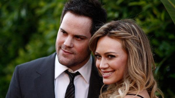 Hilary Duff, right, and Mike Comrie arrive at an Evening of Southern Style presented by The St. Bernard Project and the Spears Family in Beverly Hills, Calif., Wednesday, May 11, 2011. - Provided courtesy of AP / Matt Sayles