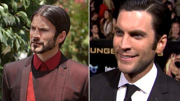 Wes Bentley on his 'Hunger Games' facial hair