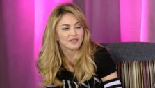 Madonna appears in a still from a March 2012 Facebook interview with Jimmy Fallon. - Provided courtesy of Facebook