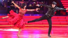 Singer Gavin DeGraw  and his partner Karina Smirnoff received 21 out of 30 points from the judges for their jive on week two of Dancing With The Stars, which aired on March 26, 2012. - Provided courtesy of ABC / Adam Taylor
