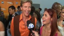 Jack Wagner and Anna Trebunskaya talk to OnTheRedCarpet.com after week 2 of season 14 of Dancing With The Stars, on March 26, 2012. - Provided courtesy of OTRC