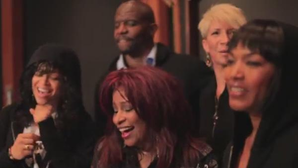 Chaka Khan appears in a still from her TrayVon Martin tribute video. - Provided courtesy of YouTube