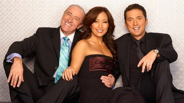 Len Goodman, Carrie Ann Inaba and Bruno Tonioli appear in a promotional photo for Dancing With The Stars. - Provided courtesy of ABC / Adam Taylor