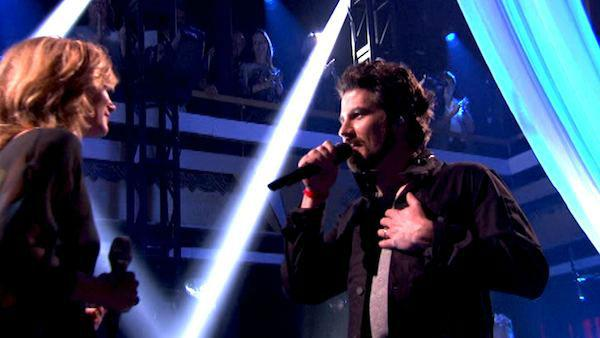 Matt Nathanson performed his latest single 'Run' featuring Sugarland in a special performance accompanied by pro dancers Tristan MacManus and Peta Murgatroyd on 'Dancing With The Stars: The Result Show' on Tuesday, March 2