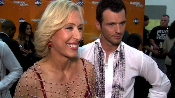 Martina Navratilova on 'DWTS' elimination