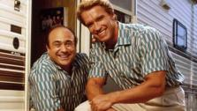 Danny DeVito and Arnold Schwarzenegger appear in a still from the 1988 film Twins. - Provided courtesy of Universal Pictures