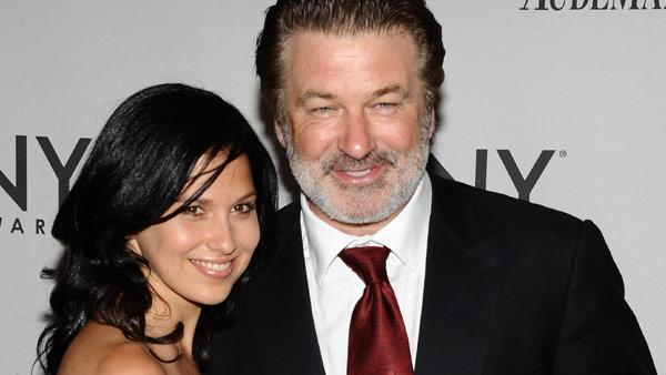 In this June 12, 2011 file photo, Alec Baldwin, right, and Hilaria Thomas arrive at the 65th annual Tony Awards in New York. - Provided courtesy of AP / Charles Sykes