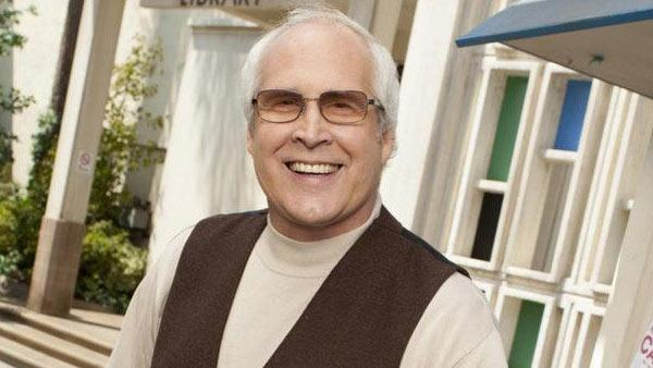 Chevy Chase appears in a still from 'Community.'