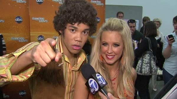 OTRC: Roshon Fegan talks after 'DWTS' week 3