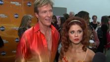 Jack Wagner and Anna Trebunskaya talk after week 3 on Dancing With The Stars on April 2, 2012. - Provided courtesy of OTRC