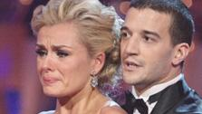 Classical singer Katherine Jenkins and her partner Mark Ballas received 29 out of 30 points from the judges for their Waltz on week three of Danci