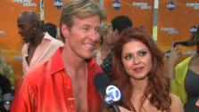 Jack Wagner talks to OnTheRedCarpet.com after the second Dancing With The Stars results show on April 3, 2012. - Provided courtesy of OTRC