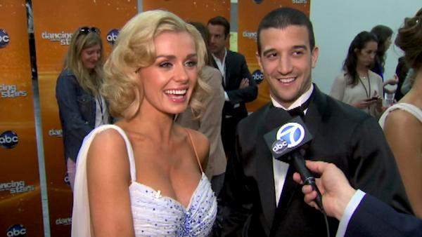 Katherine Jenkins talks after 'DWTS' results show