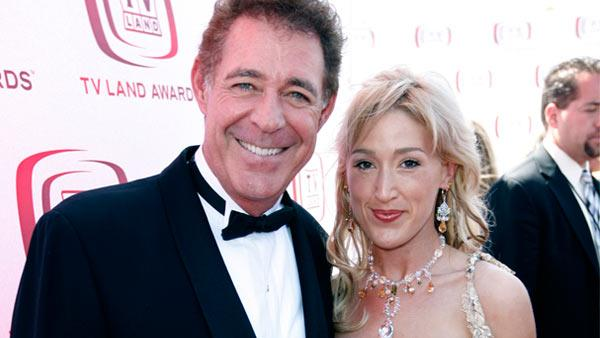 Actor Barry Williams and guest Elizabeth Kennedy arrive at the TV Land Awards on Sunday June 8, 2008 in Santa Monica, Calif. - Provided courtesy of AP / Matt Sayles