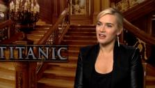 Kate Winslet appears in an interview for Titanic 3D in 2012. - Provided courtesy of Paramount Pictures