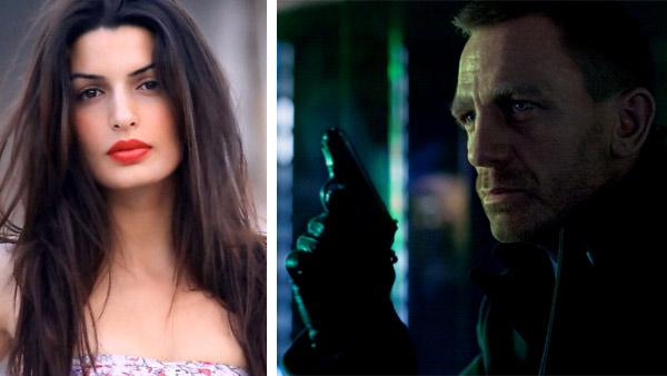 Tonia Sotiropoulou appears in a 2010 publicity photo posted on her Facebook page. / Daniel Craig appears as James Bond in the 2012 film Skyfall, a scene set in Shanghai. - Provided courtesy of facebook.com/profile.php?id100001460247218 / Sony Pictures / Francois Duhamel