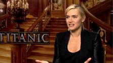 Kate Winslet appears in an interview for Titanic, provided by the studio. - Provided courtesy of Paramount Pictures