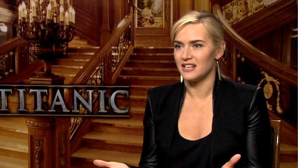 Kate Winslet talks 'Titanic 3D' director James Cameron