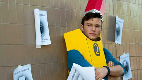 Chris Colfer appears in a still from Struck By Lightning. - Provided courtesy of Permut Presentations